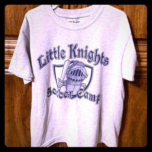 🔥20% off 2+ items Little Knights Soccer Tee